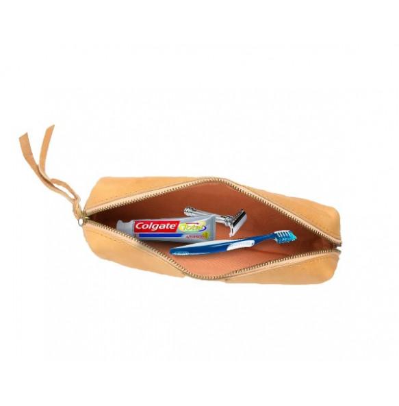 Kabana Unisex Leather Makeup Bag