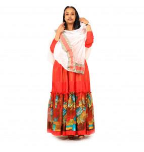 Markon  Women's  Soft Stretch Long Sleeved Dress