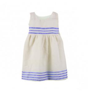 Asgedech_ Kids Traditional Cotton Sleeveless Dress