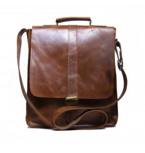 Fasika_ Genuine Leather Laptop Bag (30*26cm)