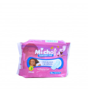 Michot  Ultra thin Sanitary Pad for Day and  Night
