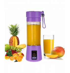 Portable And Rechargeable Battery Juice Maker With 6 Blades