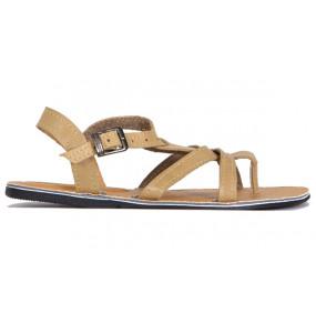 Fikadu_ Women's Leather Upper Open Shoe